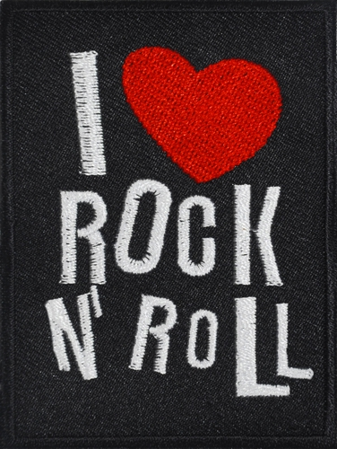 P948 patch i love rock n roll 1