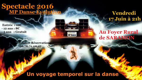 Spectacle 2016 5eme